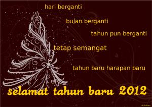 ucapan tahun baru 2012