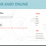 Situs Kamus Karo Online