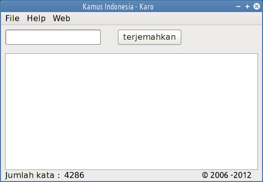kamus karo offline